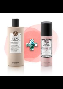 Head & Hair Heal Sampon + Cream Heat Spray csomag
